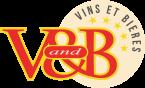 V and B