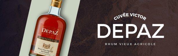 depaz cuvee victor menu Rhum