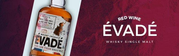 Whisky évadé red wine
