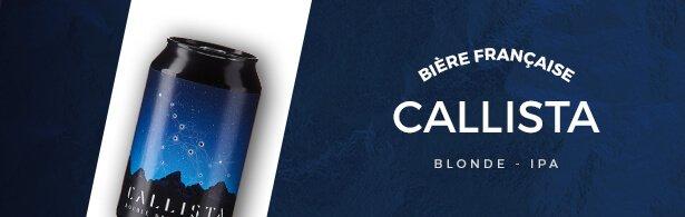 Callista - bière - encart menu