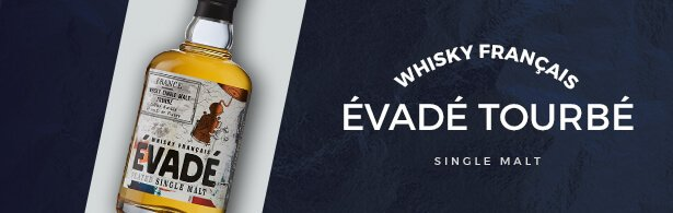 évadé tourbé - whisky - mise en avant produit