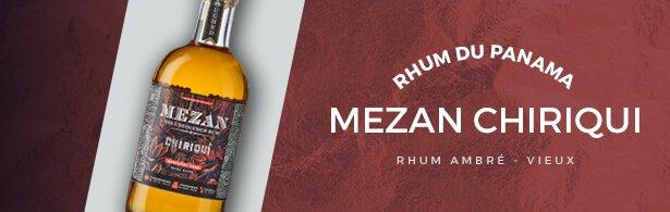 Mezan Chiriqui - rhum - mise en avant menu