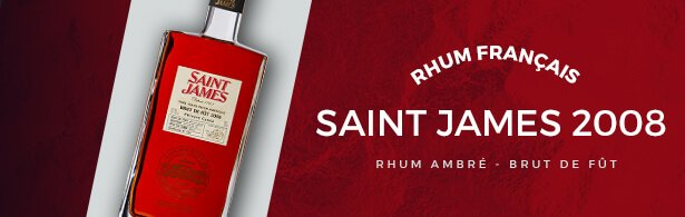 saint james 2008 - rhum - mise en avant