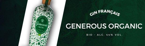Gin generous - Gin - mise en avant menu