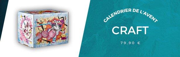 calendrier craft menu