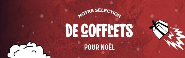 sélection de COFFRET bière - menu